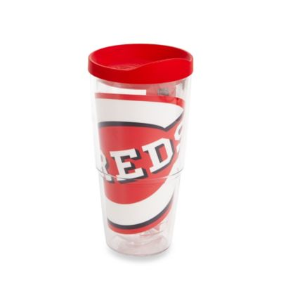 Tervis® Cincinnati Reds 24-Ounce Colossal Wrap Tumbler with Red Lid