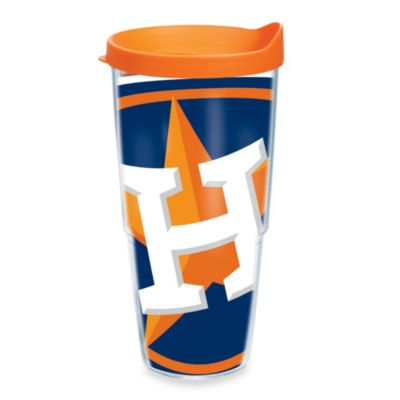 Tervis® Houston Astros 24-Ounce Wrap Tumbler with Orange Lid