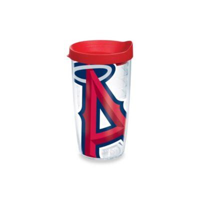 Tervis® Los Angeles Angels 16-Ounce Colossal Wrap Tumbler with Red Lid