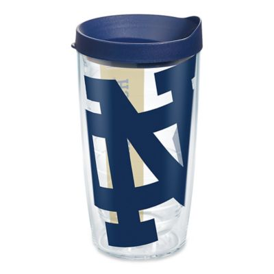 Tervis® Notre Dame University 16-Ounce Wrap Tumbler with Blue Lid
