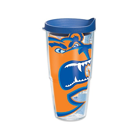 More Gifts > Tervis® U.S. Coast Guard Academy Bears 24-Ounce Wrap Tumbler with Blue Lid