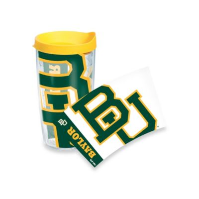 Tervis® Baylor University Bears 16 oz. Wrap Tumbler with Yellow Lid