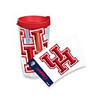 Tervis® University of Houston Cougars 16-Ounce Wrap Tumbler with Red Lid