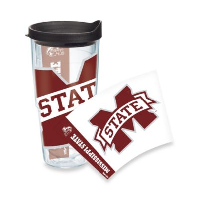 Tervis® Mississippi State 24-Ounce Wrap Tumbler with Black Lid