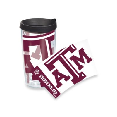 Tervis® Texas A&M University 16-Ounce Wrap Tumbler with Black Lid