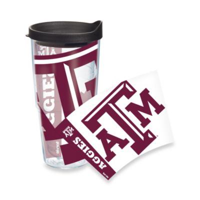 Tervis® Texas A&M University 24-Ounce Wrap Tumbler with Black Lid