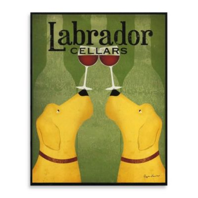 Brew Dogs Wall Art Labrador Cellars