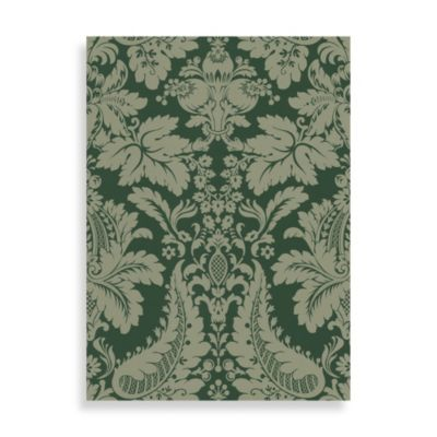 Echo Design™ Modern Damask Wallpaper in Green
