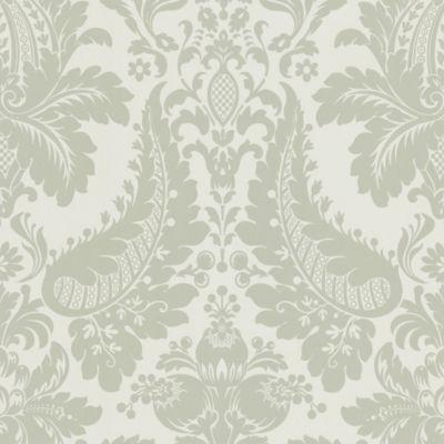 Echo Design™ Modern Damask Wallpaper Sample in Grey