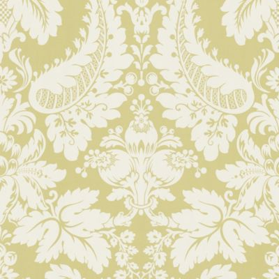 Echo Design™ Modern Damask Wallpaper Sample in Beige