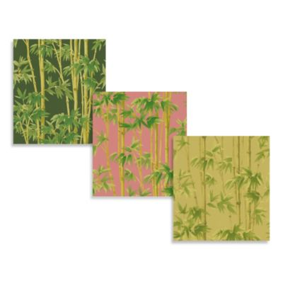 Echo Design™ Bamboo Wallpaper in Pink