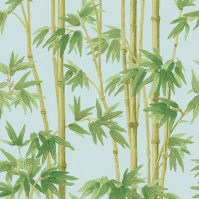Echo Design™ Bamboo Wallpaper Sample in Blue