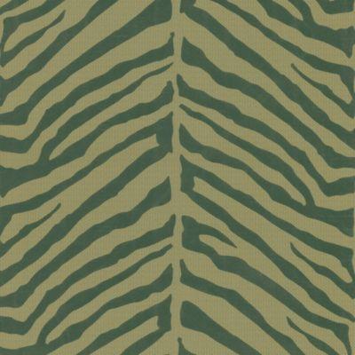 Zebra Stripes Wallpaper Sample in Brown