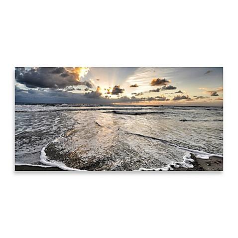 buy coastal sunrise wall art from bed bath beyond