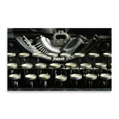 Typewriter Photo Wall Art