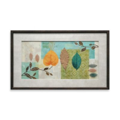 Tea Leaves Collage Wall Art