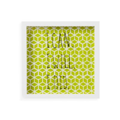 Umbra® Motto Wall Decor in Green