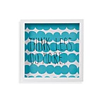 Umbra® Motto Wall Decor in Blue