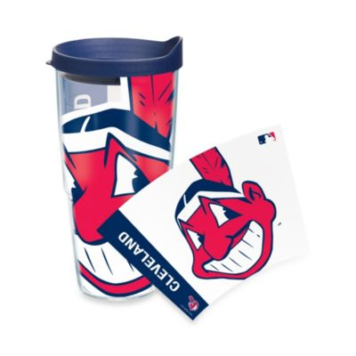 Tervis® Cleveland Indians 24-Ounce Wrap Tumbler with Blue Lid