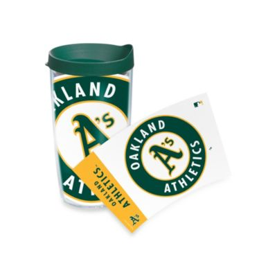 Tervis® Oakland A's 16-Ounce Wrap Tumbler with Green Lid