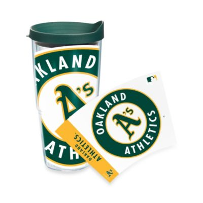 Tervis® Oakland A's 24-Ounce Wrap Tumbler with Green Lid