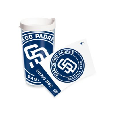 Tervis® San Diego Padres 16-Ounce Colossal Wrap Tumbler with White Lid