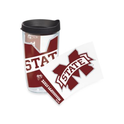 Tervis® Mississippi State University 16-Ounce Wrap Tumbler with Black Lid