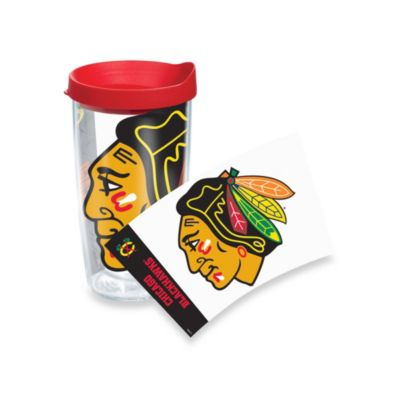 Tervis® Chicago Blackhawks 16-Ounce Wrap Tumbler with Red Lid