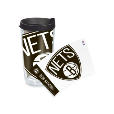 Tervis® Brooklyn Nets 16-Ounce Wrap Tumbler with Black Lid