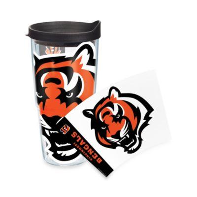 Tervis® Cincinnati Bengals 24-Ounce Wrap Tumbler with Black Lid