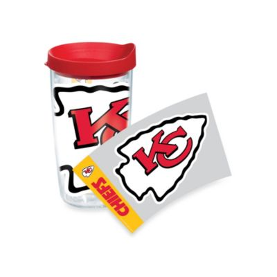 Tervis® Kansas City Chiefs 16-Ounce Wrap Tumbler with Red Lid