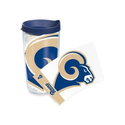 Tervis® Saint Louis Rams 16-Ounce Wrap Tumbler with Blue Lid