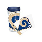 Tervis® Saint Louis Rams 16-Ounce Wrap Tumbler with Blue Lid