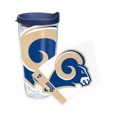 Tervis® Saint Louis Rams 24-Ounce Wrap Tumbler with Blue Lid