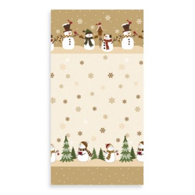 Heartland Snowman Guest Towels (Set of 16)