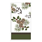 Pinecone Celebration Guest Towels (Set of 16)