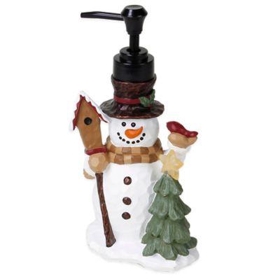 Heartland Snowman Lotion Dispenser