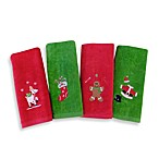 Holiday Finger Tip Towel (Set of 4) by Saturday Knight Limited