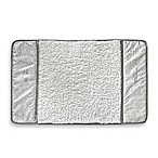 Forest White/Silver Bath Mat