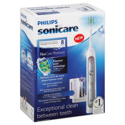 Philips Sonicare® FlexCare Platinum Electric Toothbrush with UV Sanitizer