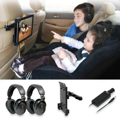 Wireless In-Car Tablet Entertainment System