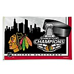 Chicago Blackhawks 2013 Stanley Cup Champions 3-Foot x 5-Foot Banner Flag