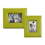 Reed and Barton® Faux Croc Picture Frame