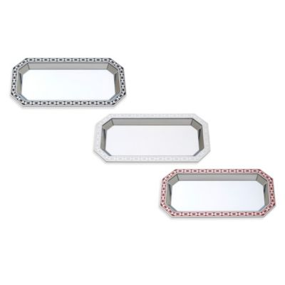 Reed and Barton® Silver Link Midnight Catch-All Tray