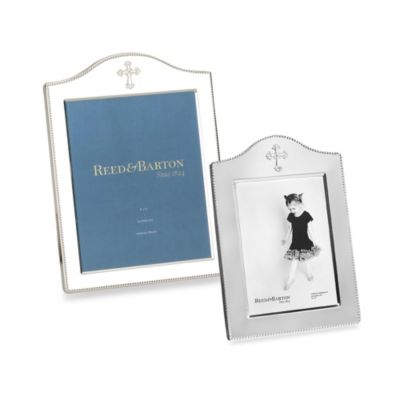Reed & Barton® Abbey 5-Inch x 7-Inch Photo Frame