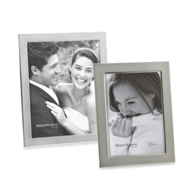 Reed & Barton® Narrow Border 5-Inch x 7-Inch Picture Frame
