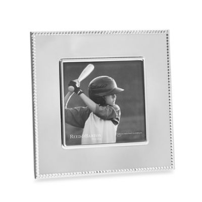 Reed & Barton® Lyndon 5-Inch x 5-Inch Silver-Plated Frame