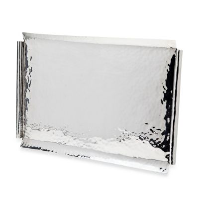 Ricci® Argentieri 20-Inch Stainless Steel Serving Tray