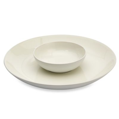 Noritake® Colorwave White Chip and Dip 2-Piece Set