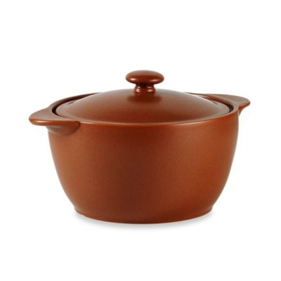 Noritake® Colorwave Terracotta 2-Quart Covered Casserole